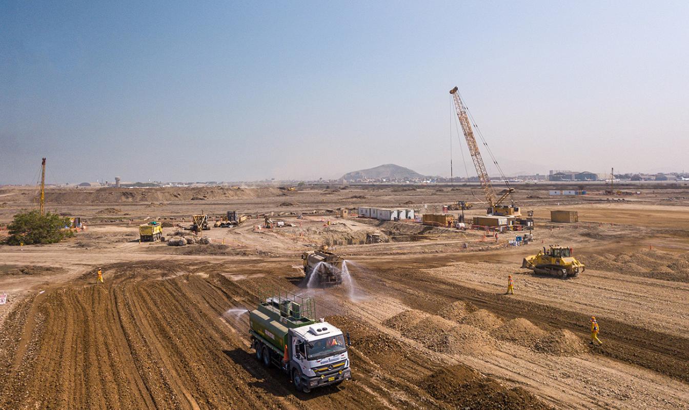 Proyecto para Acciona en el aeropuerto de Lima