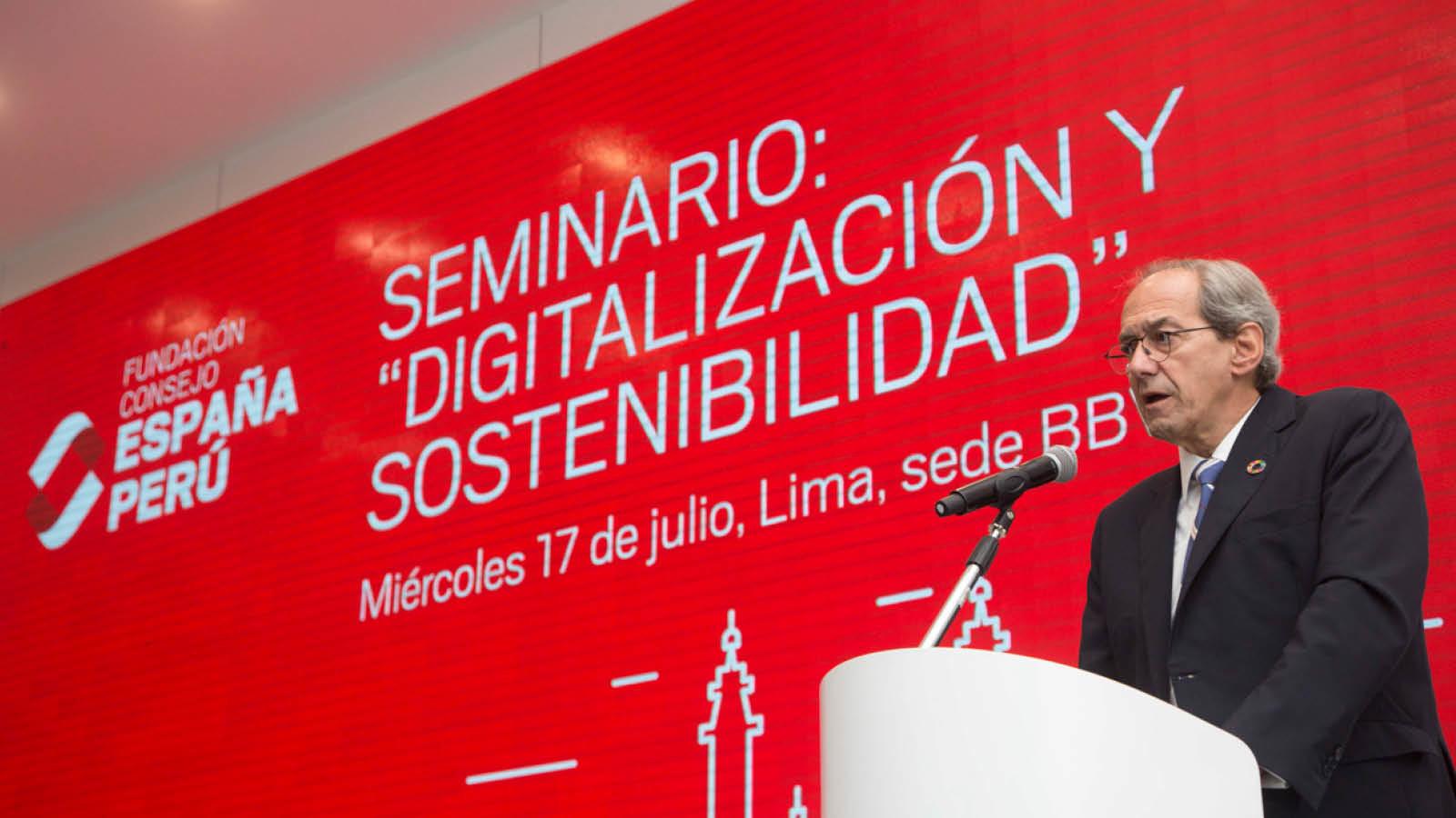 """Seminario: """"Digitalización y Sostenibilidad"""""""