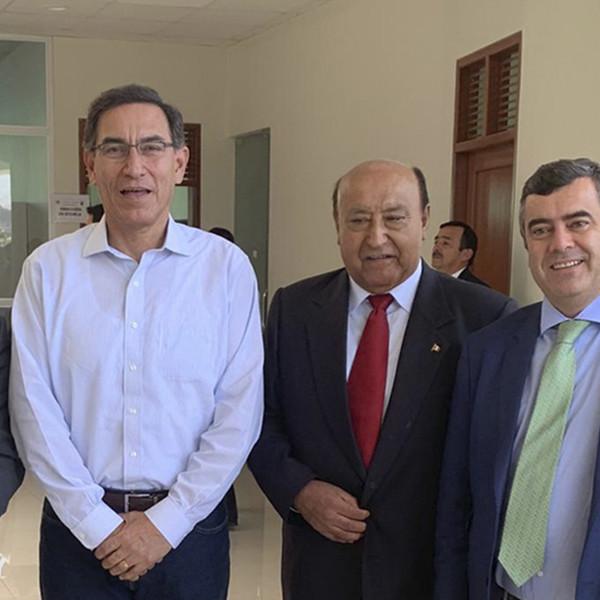 Sacyr y GCZ construirán dos centrales hidroeléctricas en Perú