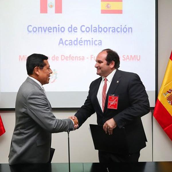 Acuerdo España-Perú sobre capacitación de médicos para emergencias