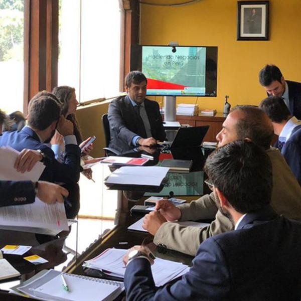 Misión comercial de Agragex e ICEX en Lima