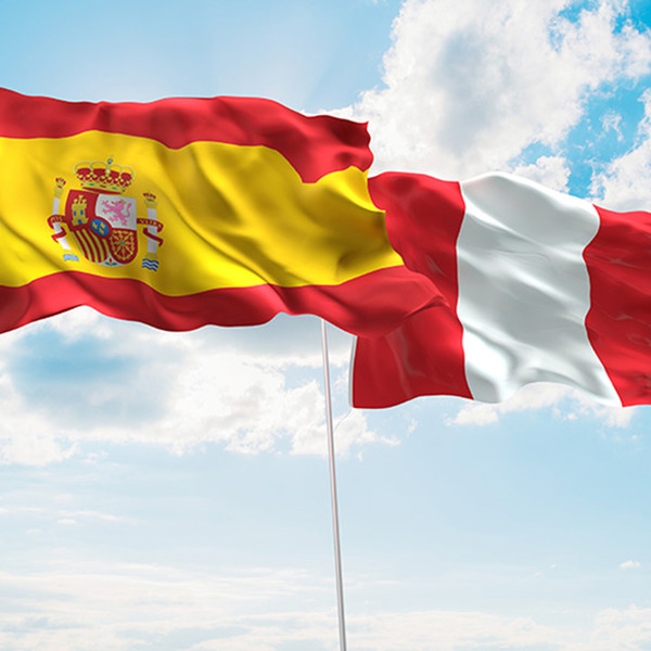 Reunión de los ministerios de Defensa de España y Perú