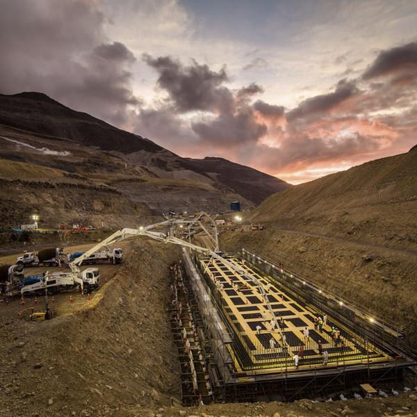 Avanza el proyecto minero Quellaveco de Sacyr