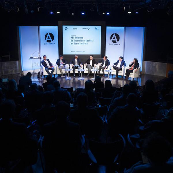Casa América presenta el XIII Informe de Inversión Española en Iberoamérica