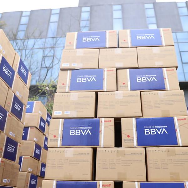 BBVA aporta para luchar contra el coronavirus 25 millones de euros