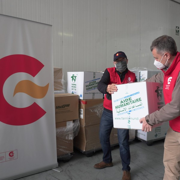 España envía medicinas y material sanitario a Perú