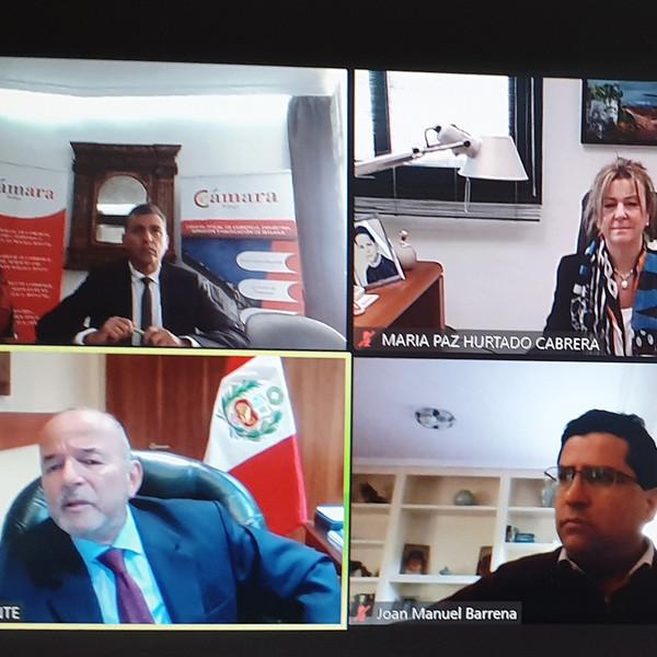 Perú presenta sus oportunidades a las empresas malagueñas