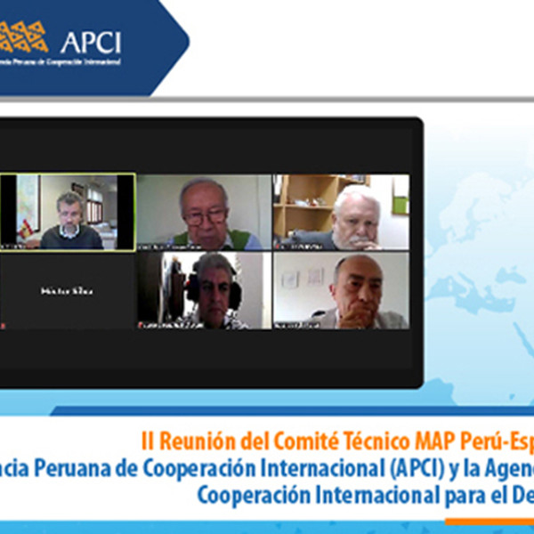 Encuentro entre las agencias de cooperación de España y Perú