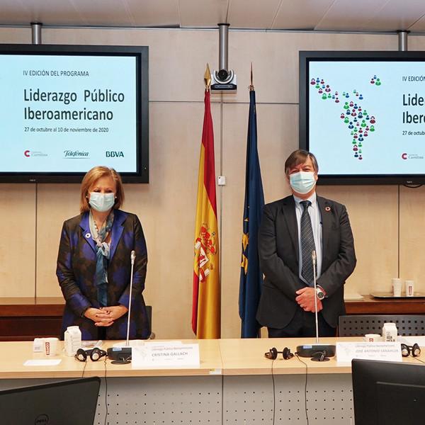 IV Programa de Liderazgo Público Iberoamericano con Fundación Carolina, Telefónica y BBVA