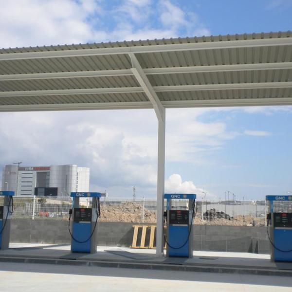 HAM construye la primera estación de servicio de gas natural de Cuzco