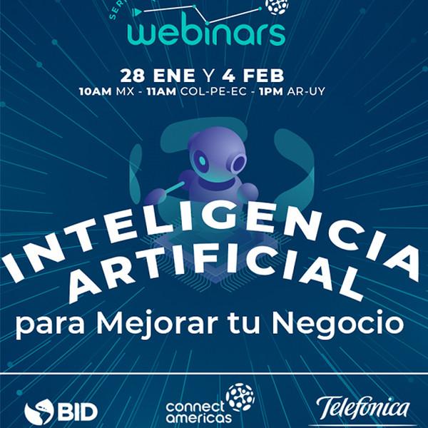 Webinars de Telefónica sobre Inteligencia Artificial para pymes