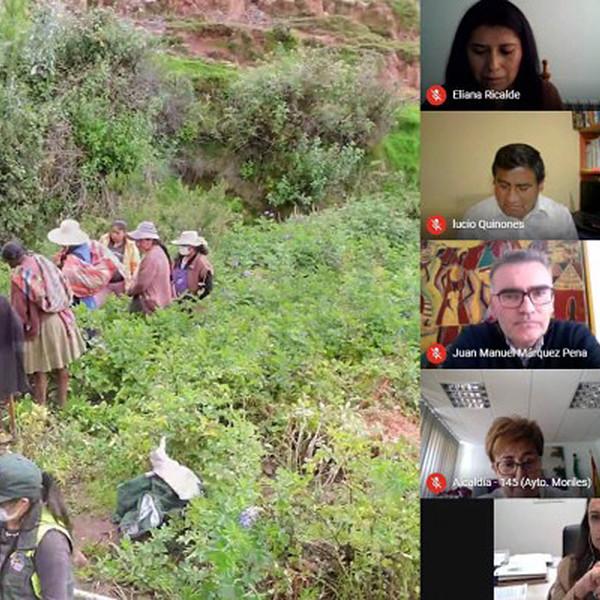 Córdoba y Perú comparten experiencias sobre cooperación