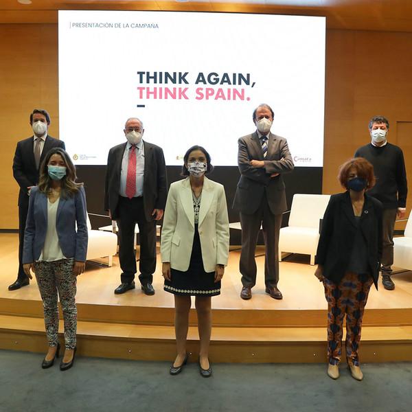 """Campaña """"Think Again, Think Spain"""""""
