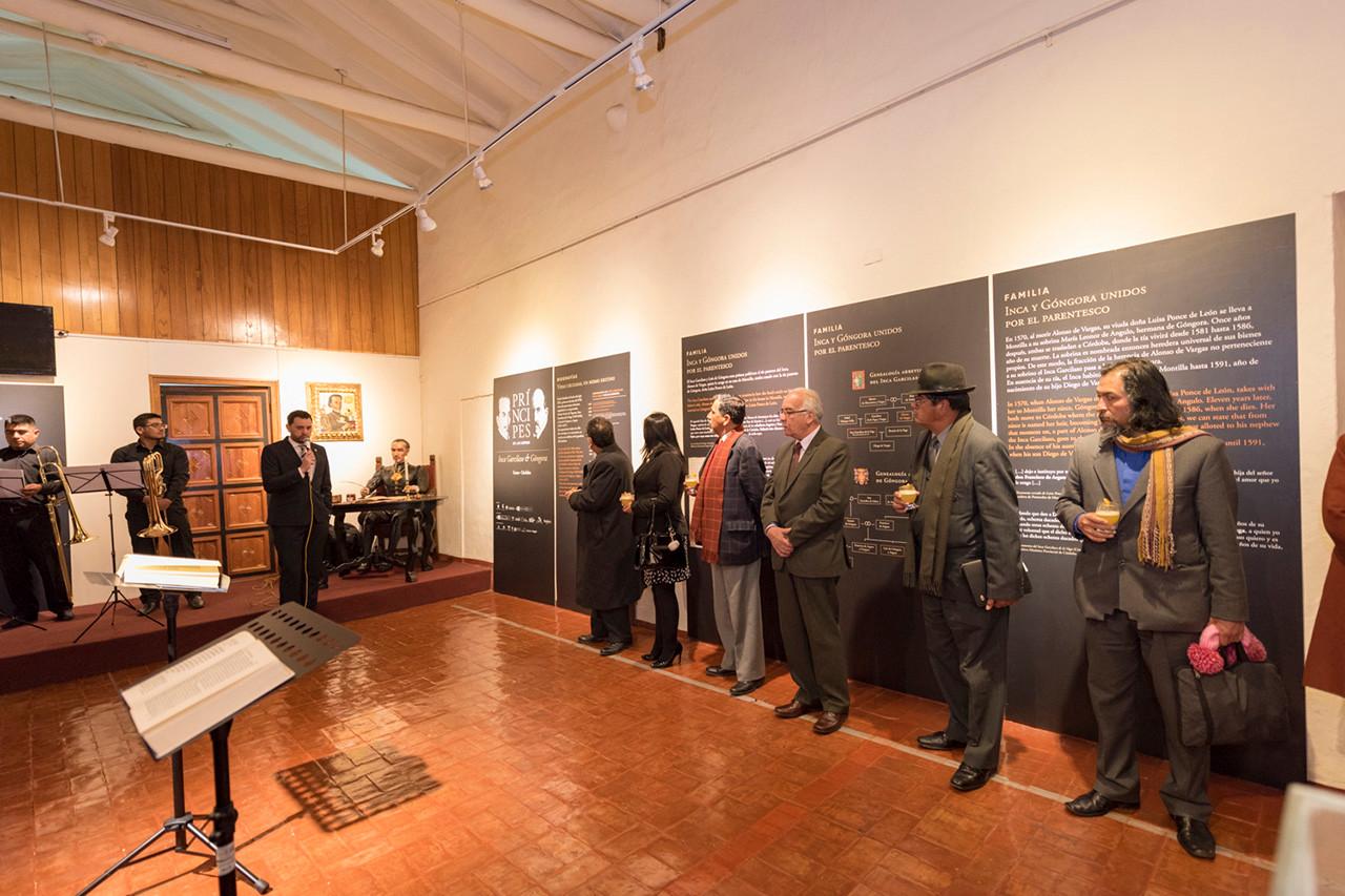 Exposición sobre el Inca Garcilaso y Góngora en Cuzco