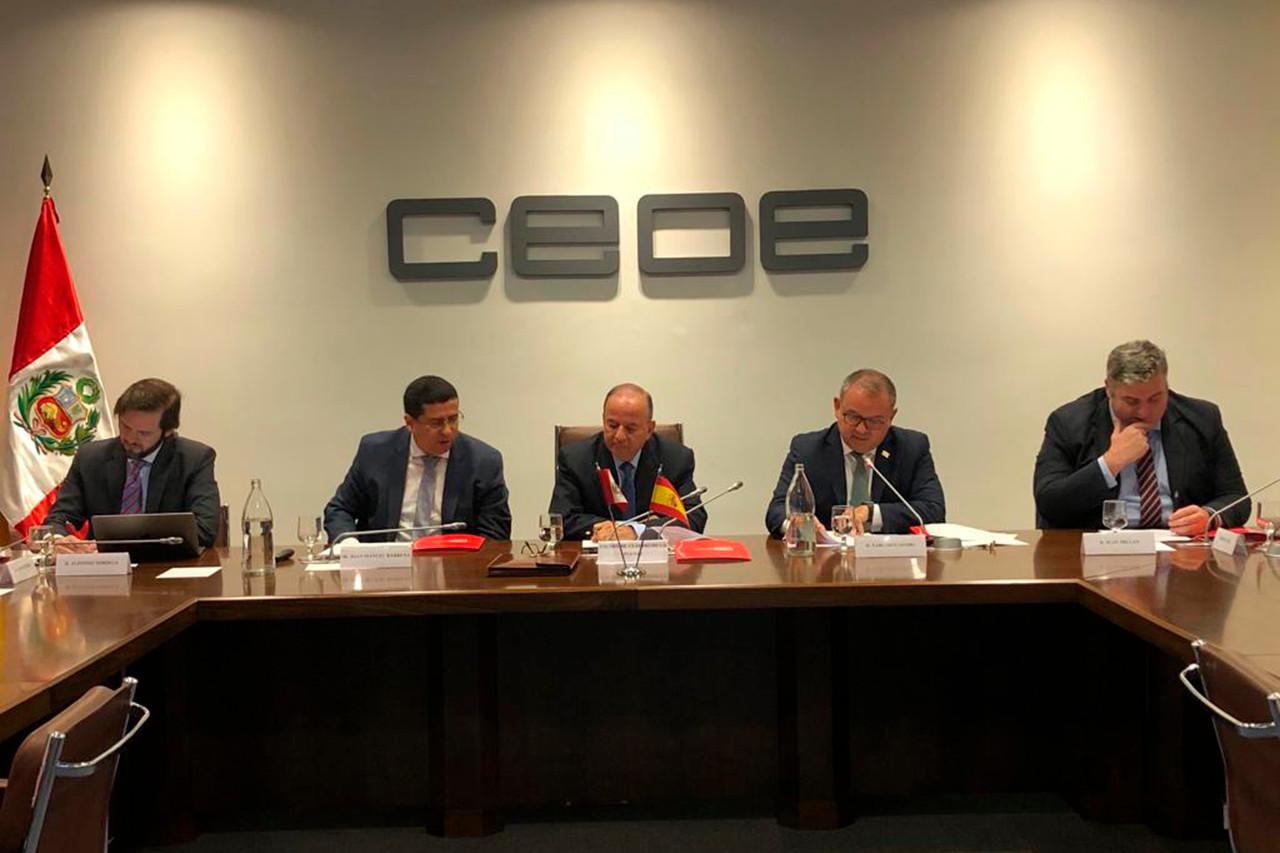 Infraestructuras, sector destacado para empresas españolas en Perú