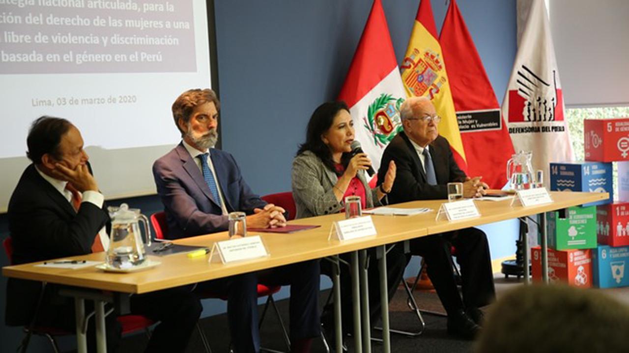 AECID y el Ministerio de la Mujer de Perú presentan un proyecto conjunto