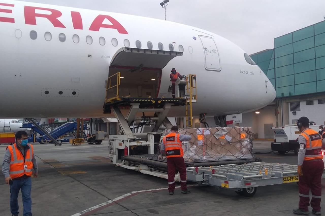 Iberia opera sus vuelos a Lima con el Airbus A350