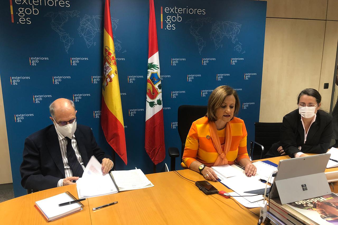 Consultas bilaterales España-Perú