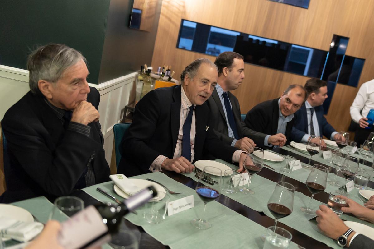 Almuerzo con patronos en Madrid
