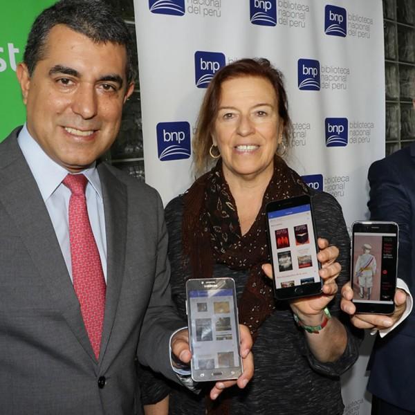 Movistar y la Biblioteca Nacional del Perú presentan la primera biblioteca digital del país